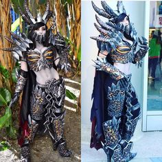 I want to wear my Deathwing again! BUT WHERE?!  #cosplay #jessicanigri #deathwing #worldofwarcraft #dragon by jessicanigri