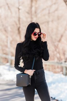 Heart Eyes... English Garden Design, Heart Eyes, Pink Peonies, Wearing Black, Fashion Handbags, Winter Outfits, Personal Style, Autumn Fashion, My Style