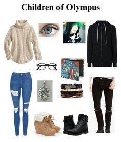 """""""Abagael And Aidan, Age's Fifteen, New Years Special, Part One🎇🎆"""" by thedeadlysin on Polyvore featuring Topshop, JustFab, DRKSHDW, Levi's, Timberland, Marvel, percyjackson, daughterofposeidon and SonOfApollo"""