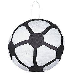 Soccer Pinata-fill & kick!  Tyler's sleepover party!