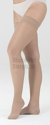 a4d107b8b5 Medi Sheer & Soft Thigh High 20-30mmHg. From prescription compression  stockings that support