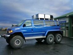 offroad van | the 6x6 van is no off road only trailer queen
