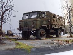 GaZ-66 | #Scale_model 1/35 #diorama