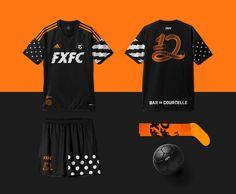 FXFC football club on Behance