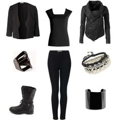 25 Sexy All-Black Outfits for Winter - Winter Outfit Ideas 13a56cd4e