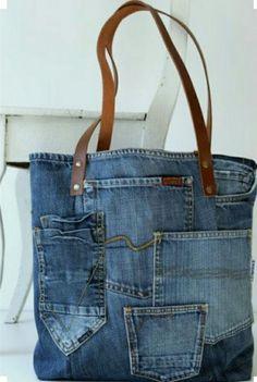 Еще одна джинсовая сумка