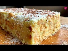 Kremasto zadovoljstvo sa kokosom i keksom - bez jaja i brašna - za 15 mi. Air Fryer Dinner Recipes, Torte Cake, Cake Recipes, Cheesecake, Deserts, Food And Drink, Cooking Recipes, Sweets, Make It Yourself