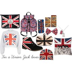"""For a Union Jack lover"" by mackenzieweston on Polyvore"
