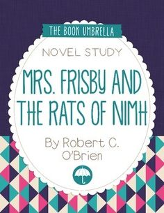 Free worksheets for mrs frisby and the rats of nimh vocab mrs frisby and the rats of nimh fandeluxe Gallery
