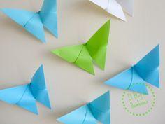 Mariposas de origami. Butterflies