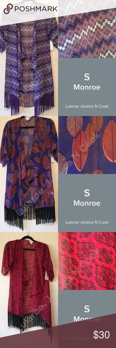 Small Monroe's Small new with tag never worn Monroe's LuLaRoe Swim Coverups