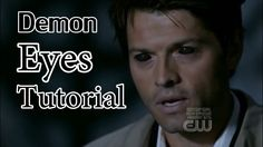 Tutorial: Supernatural Demon Eyes