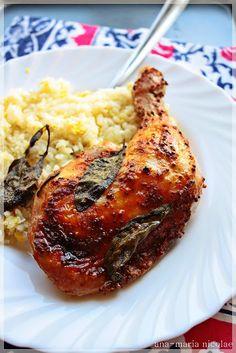 Friptura de pui cu salvie si mustar - Ama Nicolae Romanian Food, Chicken, Meat, Cooking, Kitchen, Brewing, Cuisine, Cook, Cubs