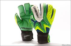 Samba flavoured paint job lands on new Reusch model. : Goal Keeper Gloves : Soccer Bible