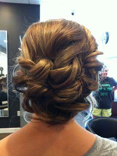 Romantic updo @Stephanie Close Helton Hammond Beauty Tips, Beauty Hacks, Hair Beauty, Hair Inspiration, Wedding Inspiration, Wedding Ideas, Love Hair, Gorgeous Hair, Wedding Wishes