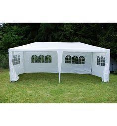 #Pavillon #Partyzelt Raucherzelt weiß 3x6m PE 110g/m² online kaufen | smatch.com
