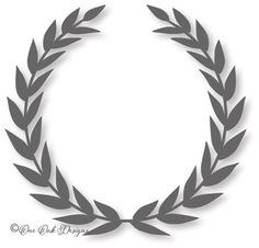 One Oak Designs | Laurel Wreath Monogram Frame