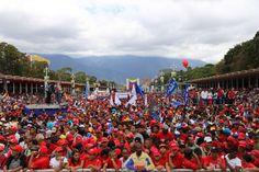 Presidente Maduro conmemoró junto al pueblo el Día Antiimperialista