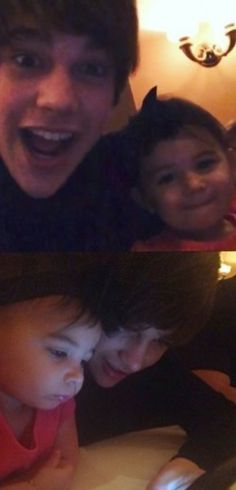 Austin Mahone Is So Cute With Kids<3<3<3