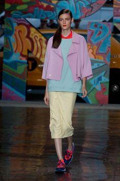 DKNY Spring/Summer 2014  #dkny #nyfw #mbfw #springsummer #fashionweek #2014 #ss14 #fashion #catwalk #runway #fashionshow #model