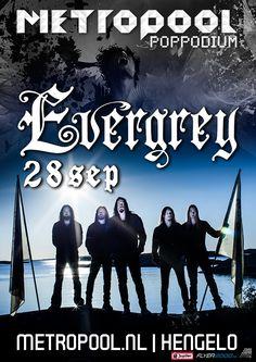 Donderdag 28 september   Evergrey   Evergrey bestaat 20 jaar en de fan van deze progressieve metalband hadden zich geen mooiere verjaardagstaart kunnen wensen.