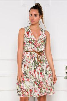 Pagina 2 - Rochii de Zi Casual - Preturi Avantajoase | DyFashion Wrap Dress, Floral, Casual, Dresses, Fashion, Vestidos, Moda, Fashion Styles, Flowers