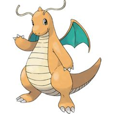 Dragonite - #149 - Dragon and Flying Type