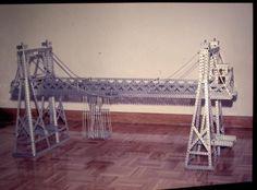Puente transbordador automático. Construido con piezas STOKYS