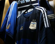 Argentina Away Shirt From FlagWigs.com
