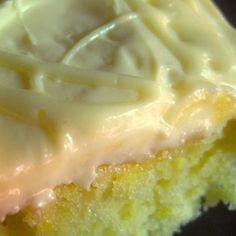 LEMON DROP Cake Plus a Little Frosting Secret.