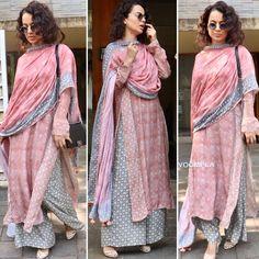 Image may contain: 3 people, people standing Salwar Designs, Kurta Designs Women, Indian Party Wear, Indian Wear, Indian Dresses, Indian Outfits, Indian Fashion, Fashion Fall, Fashion 2017