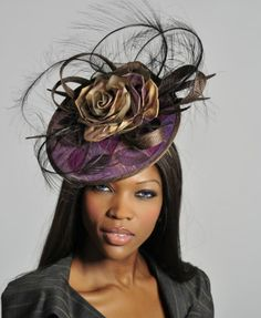 "Chapeau ""GUIBERT Millinery, SPRING / SUMMER 2012 Collection"""