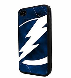 NHL HOCKEY Tampa Bay Lightning Logo, Cool iPhone 4 / 4s Smartphone iphone Case Cover Collector iphone TPU Rubber Case Black 9nayCover http://www.amazon.com/dp/B00UREU1BW/ref=cm_sw_r_pi_dp_Wnosvb1S2BWF7