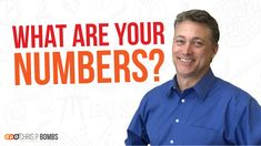Are you keeping track of the numbers in YOUR business? In today's episode of Chris P. Bombs, learn how your past numbers can help you set a plan for future g. Startup Entrepreneur, Growing Your Business, Numbers, Finance, Track, Success, How To Plan, Learning, Videos