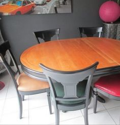 Comment moderniser des meubles louis philippe en merisier for Meubles sweet home