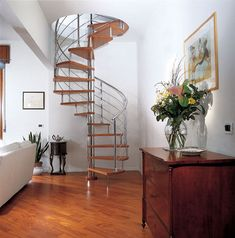 I've always wanted a wrap around staircase.