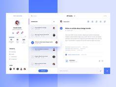 Calendar for Task Manager designed by Aga Ciurysek for Connect with them on Dribbble; Web Dashboard, Ui Web, Dashboard Design, Dashboard Interface, Website Design Inspiration, Ui Inspiration, Design Web, Flat Design, Icon Design