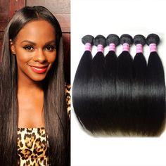 $32.64 (Buy here: https://alitems.com/g/1e8d114494ebda23ff8b16525dc3e8/?i=5&ulp=https%3A%2F%2Fwww.aliexpress.com%2Fitem%2F100-Brazilian-Virgin-Hair-Straight-Weave-Human-Hair-8pcs-Per-Bundles-Straight-Virgin-Hair-Extensions-DHL%2F32623728603.html ) Amapro Hair Product 100% Brazilian Virgin Hair Straight Weave Human Hair 8pcs Per Bundles Straight Virgin Hair Extensions for just $32.64