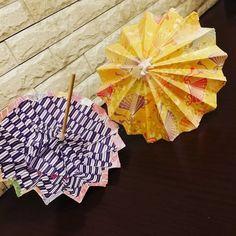一度は作ってみたい!折り紙で作る本格的な傘の作り方☆ | Handful
