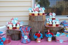 Gorgeous toadstool birthday party for one of our ... | Party Ideas