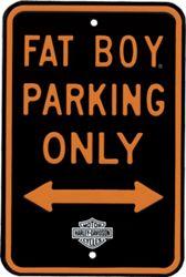 Harley-Davidson Fatboy Parking Only