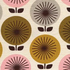 Barkcloth by Jessica Jones and Cloud9 Fabrics - coming in November. Gorgeous!