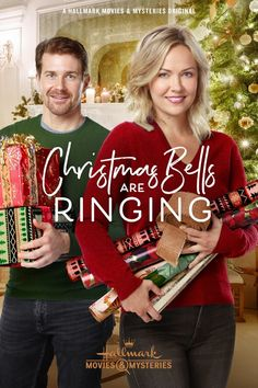 """Its a Wonderful Movie - Your Guide to Family and Christmas Movies on TV: Christmas Bells are Ringing - a Hallmark Movies & Mysteries """"Miracles of Christmas"""" Movie starring Emilie Ullerup & Josh Kelly! Family Christmas Movies, Hallmark Christmas Movies, Holiday Movie, Hallmark Movies, Romance Movies, Hd Movies, Movies To Watch, Movie Tv, Josh Kelly"""