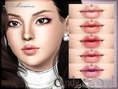 Candy Caramel Lip Balm by Pralinesims - Sims 3 Downloads CC Caboodle