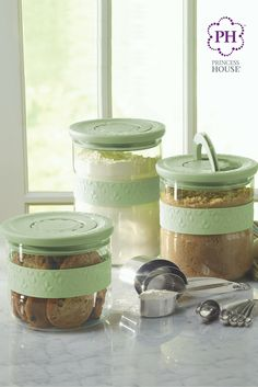 Fantasia® Fresh Dry Goods Storage Container Set  | Juego de Recipientes para almientos secos Fantasia® Fresh