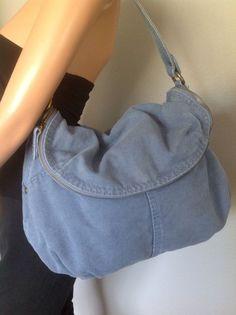 Od Navy Cotton  Canvas Blue Bag Purse  Designer Hip Fashion  #OldNavy #Hobo