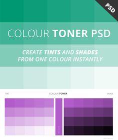 Free Colour Toner PSD