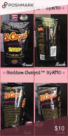 """🌸El Coquí Coffe /Ground Puertorrican Coffee🇵🇷☕️ 🌸Ground Coffee El Coquí - Was founded in 1986 in the country of San Sebastián, Puerto Rico where the climate & soil conditions are ideal to grow & produce coffee 🇵🇷☕️.                                                                      ✔️Since their beginning, El Coquí coffee has been commitied with the quality. Delighting for 30 years all the """"Isla del Encanto"""" and other parts of the world.          ✔️Elaborate, Roasted, Grounded and…"""