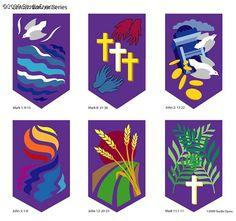 religious banners | Lenten Banner Series& - Carolyn Dyess - 621513
