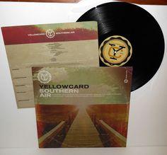 YELLOWCARD southern air Lp Record Vinyl with lyrics insert #punkEmoPunkNewWave